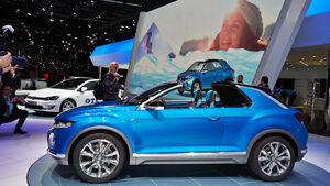 VW T-Roc, Genfer Autosalon, Messe 2014