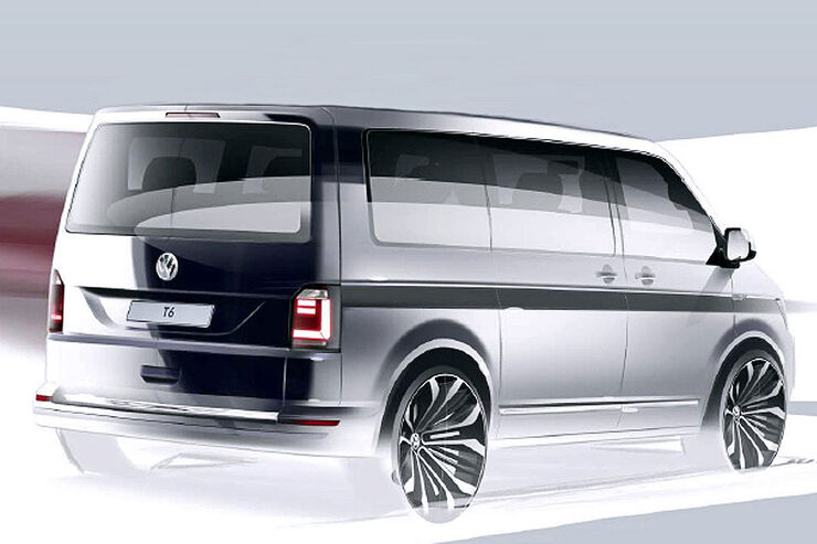 VW T6 Designsketch Teaser
