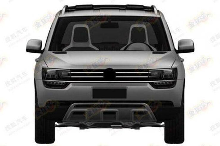 VW Taigun Patentbilder