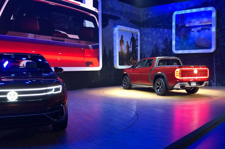 VW Tanoak Weltpremiere 2018 New York Sitzprobe