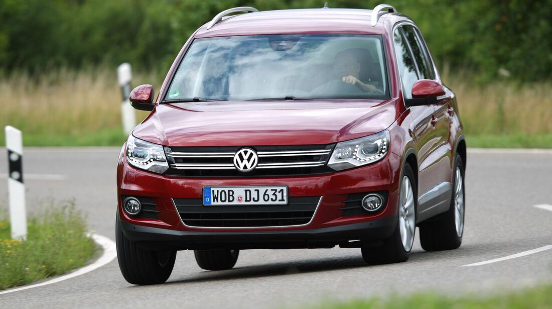 VW Tiguan 1.4 TSI  1.4 TSI 4Motion, Frontansicht