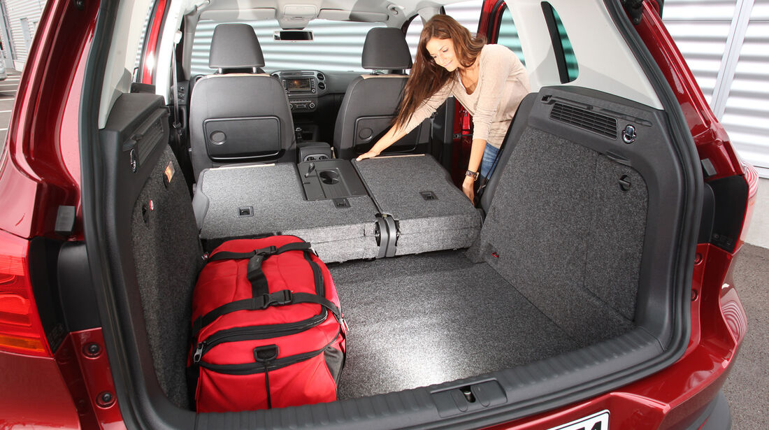 VW Tiguan 1.4 TSI  1.4 TSI 4Motion, Ladefläche