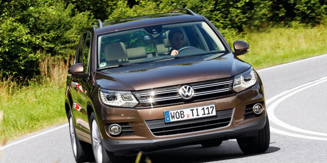VW Tiguan 1.4 TSI, Frontansicht
