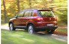 VW Tiguan 1.4 TSI, Rueckansicht