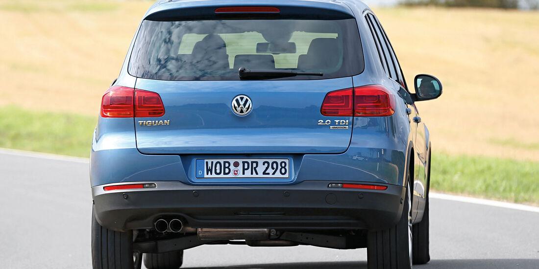 VW Tiguan 2.0 TDI BMT 4Motion, Heckansicht