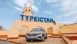 VW Touareg 2018 Reise Kasachstan