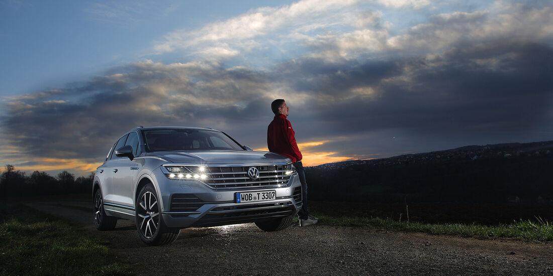VW Touareg 2018 Reise Thüringen