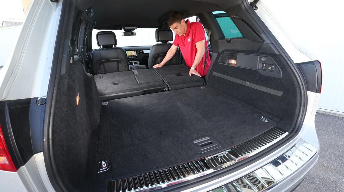 VW Touareg 3.0 TDI, Ladefläche
