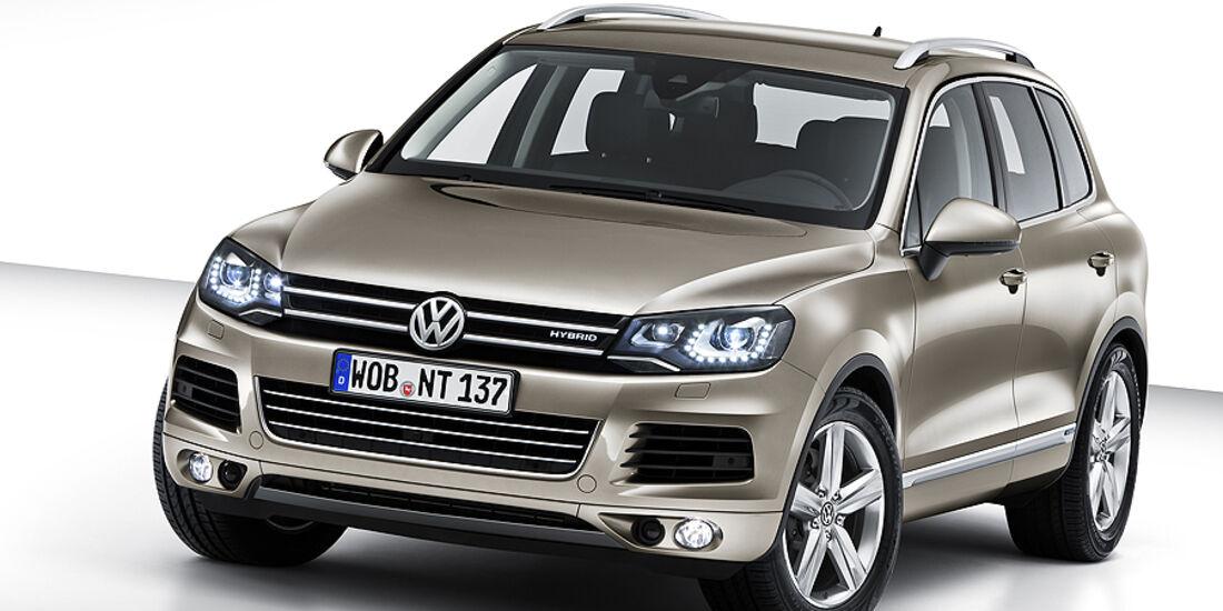 VW Touareg Hybrid 2010