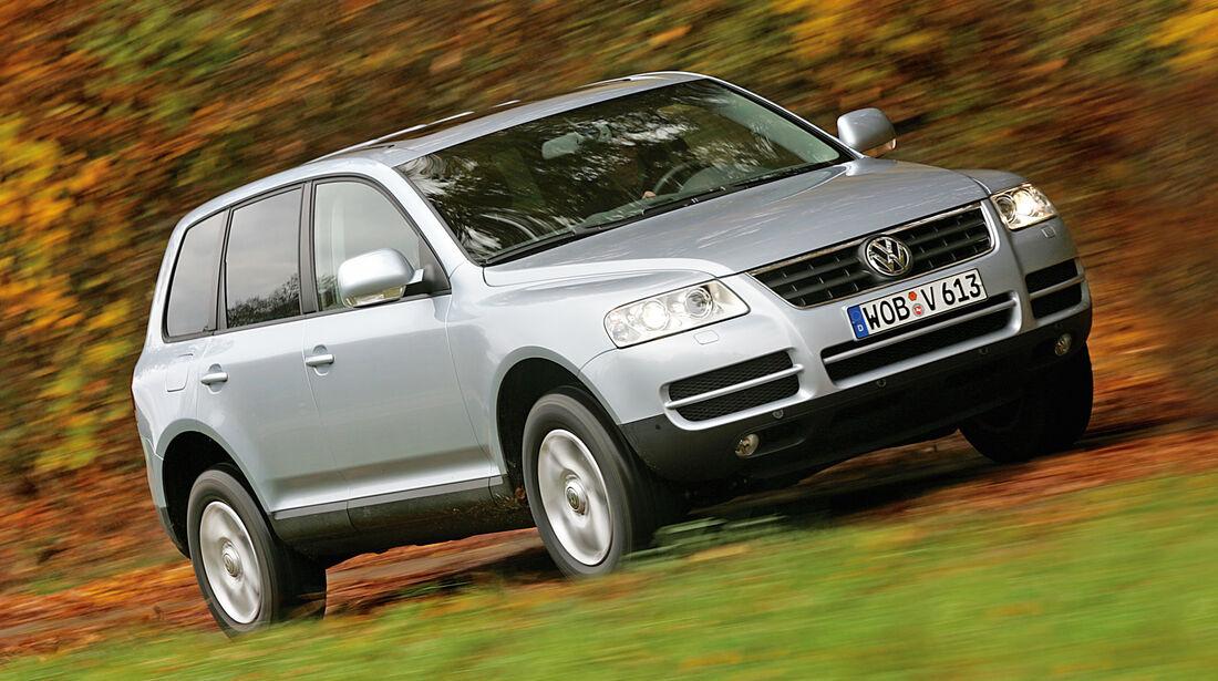 VW Touareg I, Frontansicht