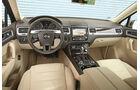 VW Touareg V6 TDI, Cockpit