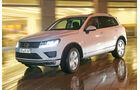 VW Touareg V6 TDI, Frontansicht