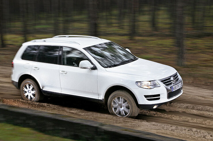 VW Touareg V6 TDI im 4wheelfun-Supertest