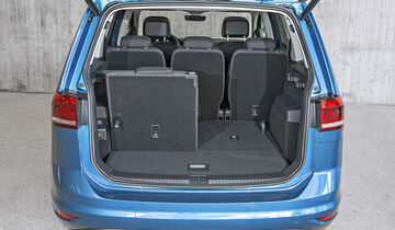 VW Touran 2.0 TDI, Interieur