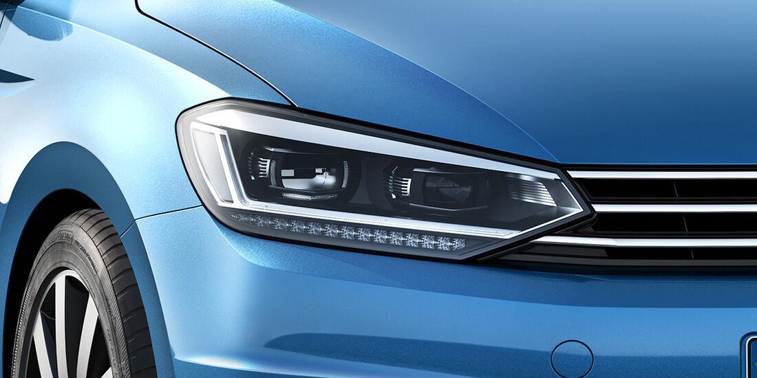 VW Touran 2015, LED-Scheinwerfer