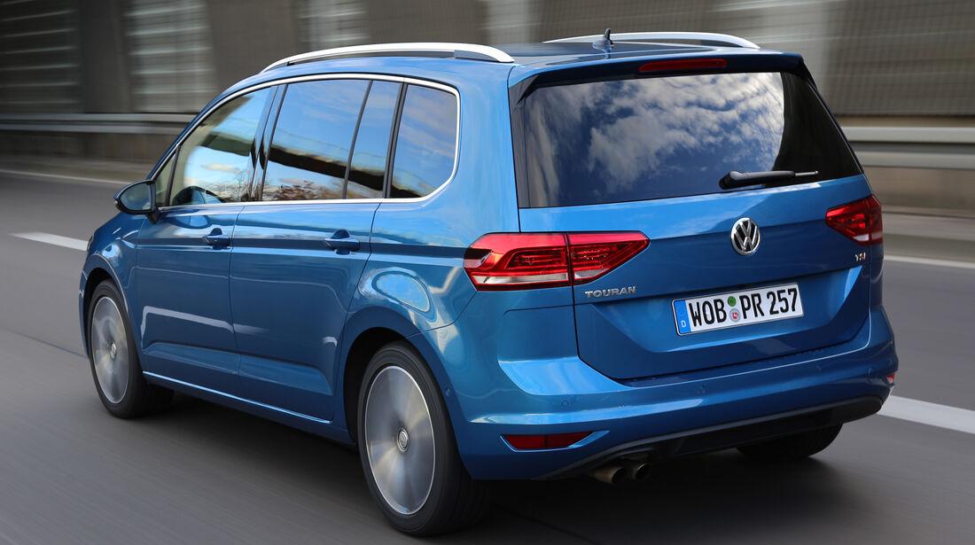 VW Touran, Heckansicht