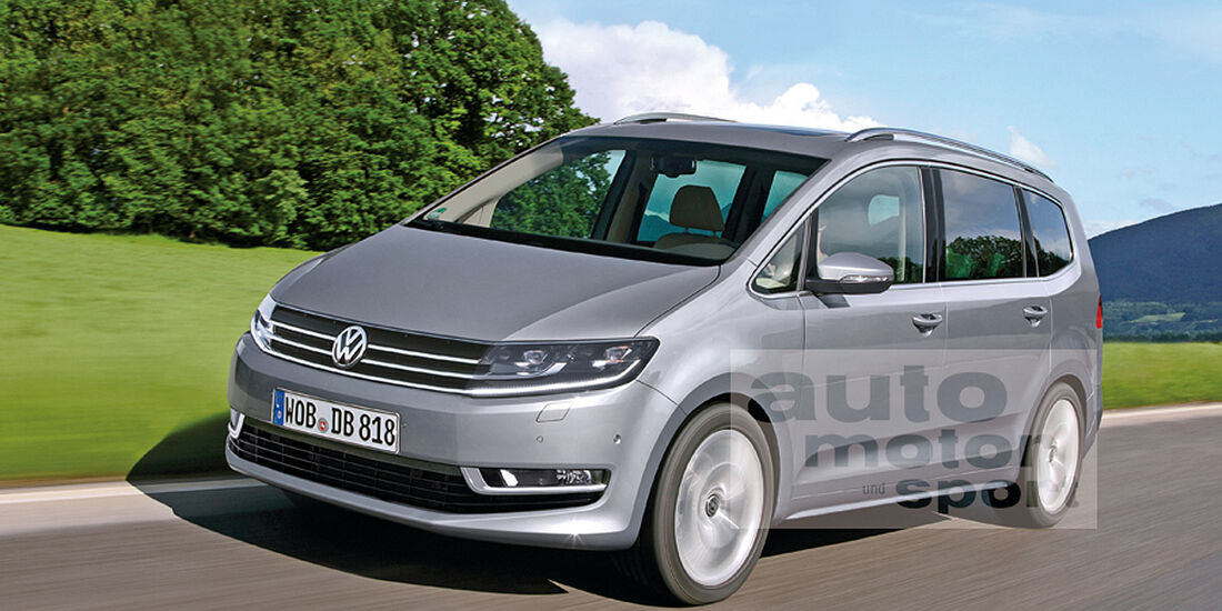 VW Touran Retusche
