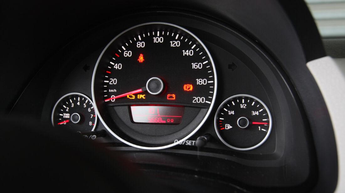 VW Up 1.0, Navi-Display