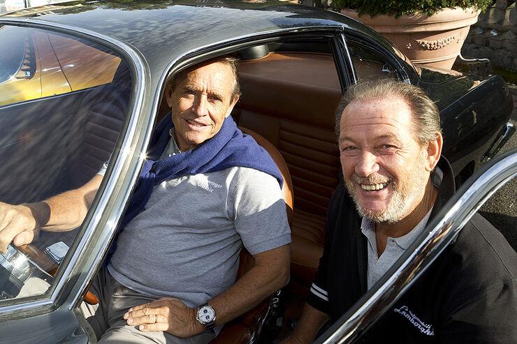 Valentino Balboni und Jacky Ickx