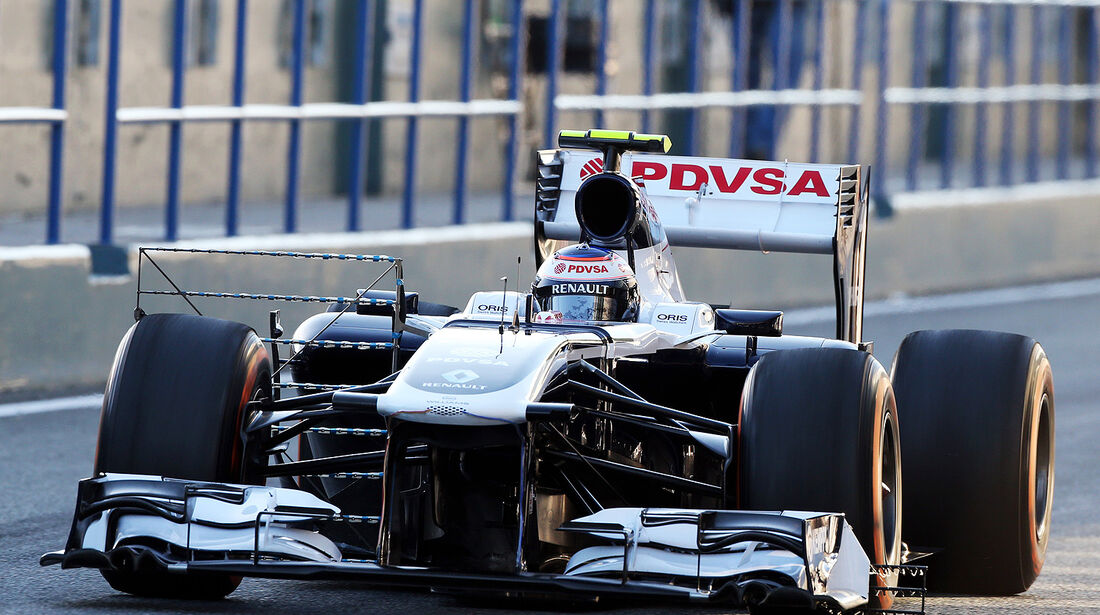 Valterri Bottas, Williams, Formel 1-Test, Jerez, 7.2.2013