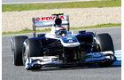 Valterri Bottas, Williams, Formel 1-Test, Jerez, 8. Februar 2013