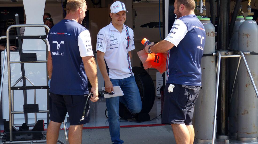Valtteri Botas - Williams - Formel 1 - GP Ungarn - 24. Juli 2014