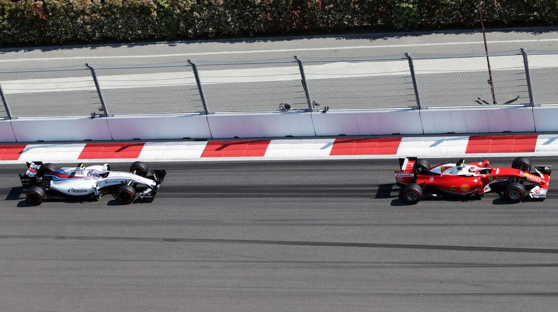 Valtteri Bottas - Kimi Räikkönen - Formel 1 - GP Russland - 1. Mai 2016