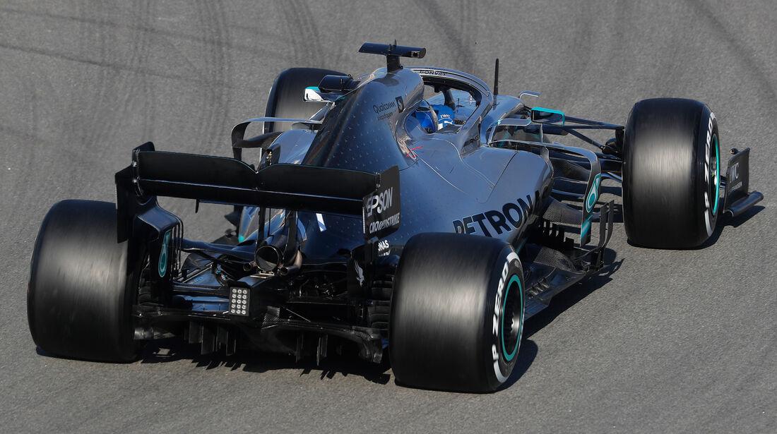 Valtteri Bottas - Mercedes - Barcelona - F1-Test - 27. Februar 2019
