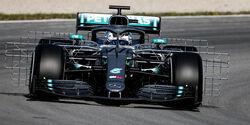 Valtteri Bottas - Mercedes - F1-Test - Barcelona  - 14. Mai 2019