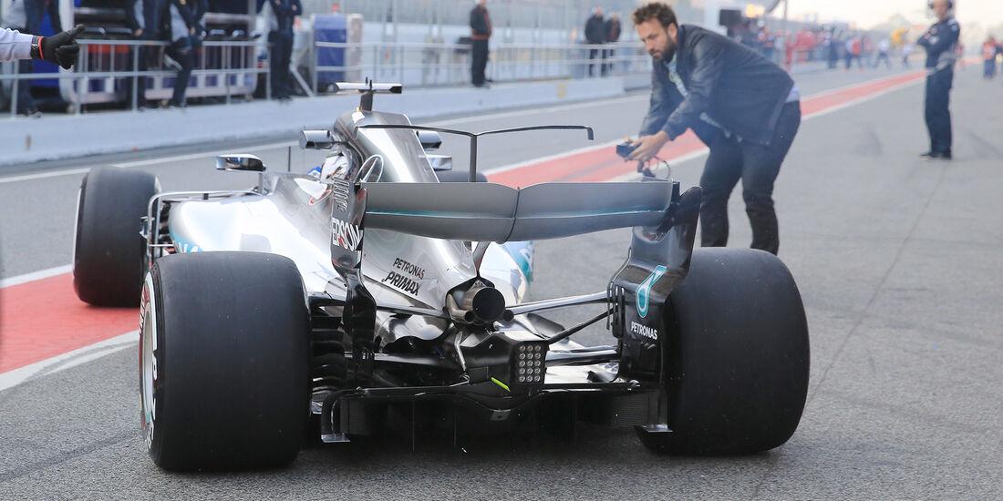Valtteri Bottas - Mercedes - F1-Test - Barcelona - 27. Februar 2017