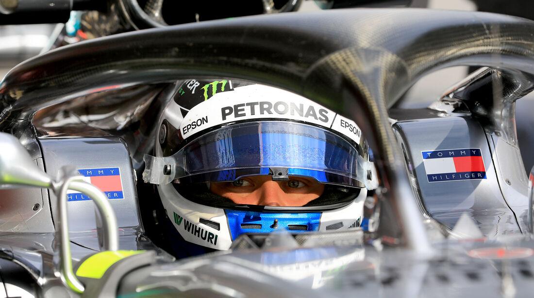 Valtteri Bottas - Mercedes - F1-Test - Barcelona - Tag 7 - 8. März 2018