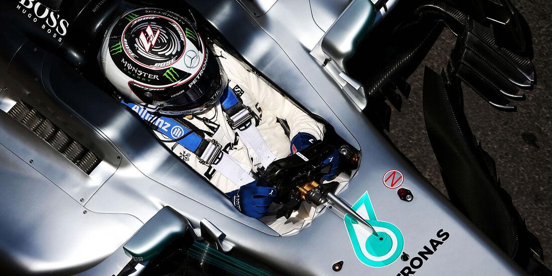 Valtteri Bottas - Mercedes - Formel 1 - GP Aseerbaidschan 2017 - Training - Freitag - 23.6.2017