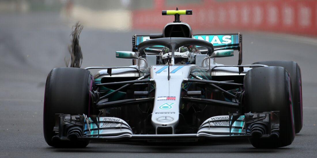 Valtteri Bottas - Mercedes - Formel 1 - GP Aserbaidschan - 29. April 2018