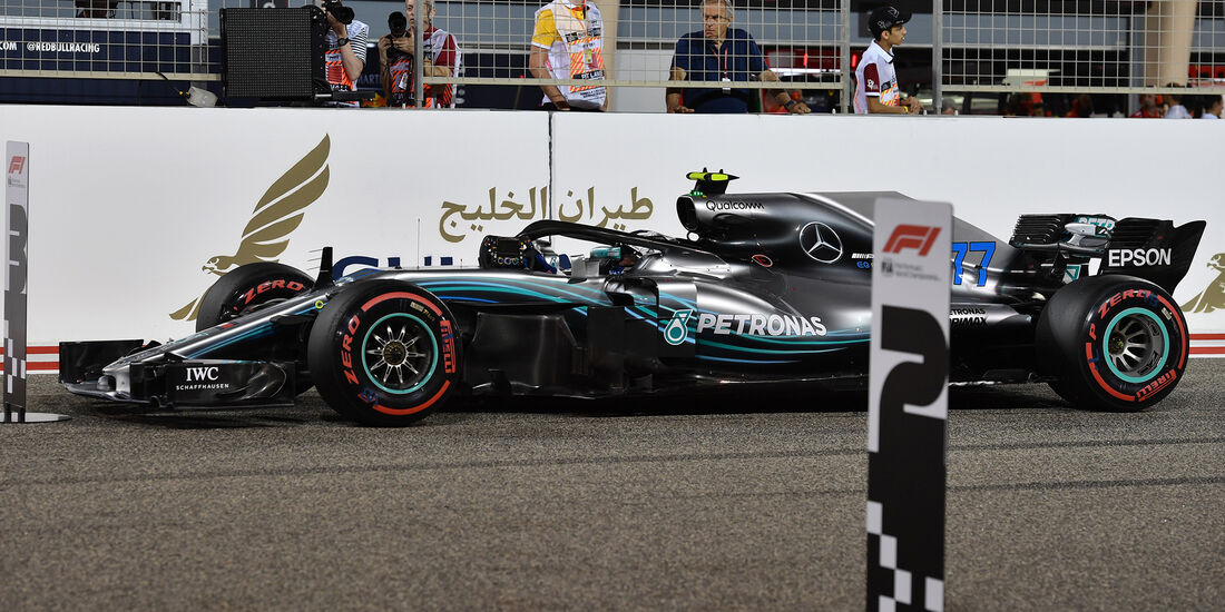 Valtteri Bottas - Mercedes - Formel 1 - GP Bahrain - 7. April 2018