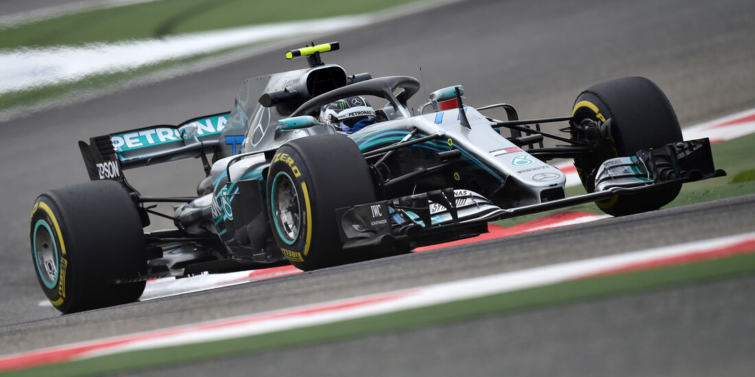 Valtteri Bottas - Mercedes - Formel 1 - GP Bahrain - Training - 6. April 2018