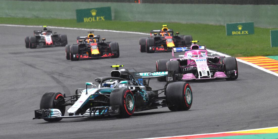 Valtteri  Bottas - Mercedes - Formel 1 - GP Belgien - Spa-Francorchamps - 25. August 2018