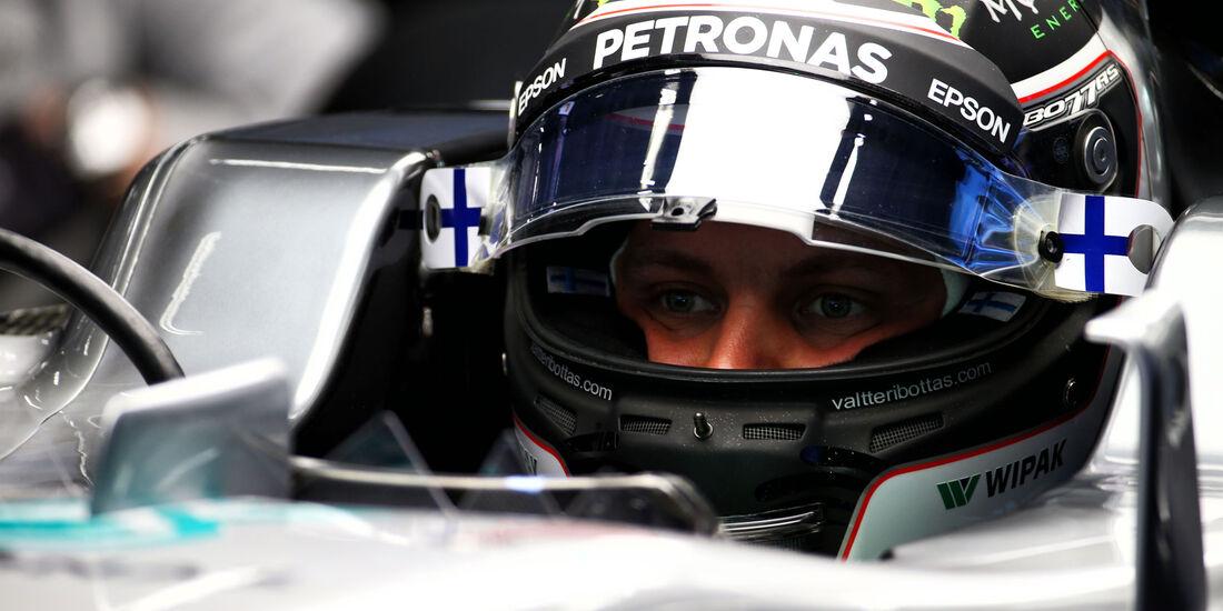 Valtteri Bottas - Mercedes - Formel 1 - GP China 2017 - Shanghai - 7.4.2017