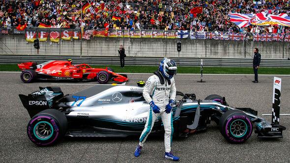 Valtteri Bottas - Mercedes - Formel 1 - GP China - Shanghai - 14. April 2018