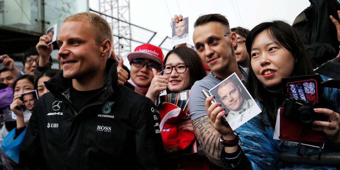 Valtteri Bottas - Mercedes - Formel 1 - GP China - Shanghai - 6.4.2017