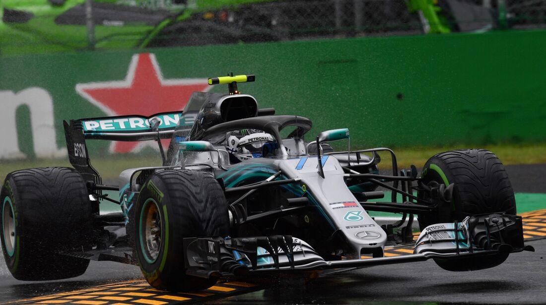 Valtteri Bottas - Mercedes - Formel 1 - GP Italien - 31. August 2018