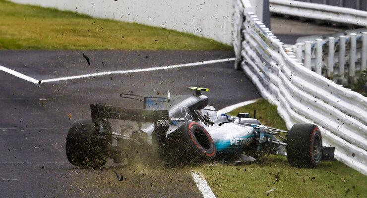 Valtteri Bottas  - Mercedes - Formel 1 - GP Japan - Suzuka - 7. Oktober 2017