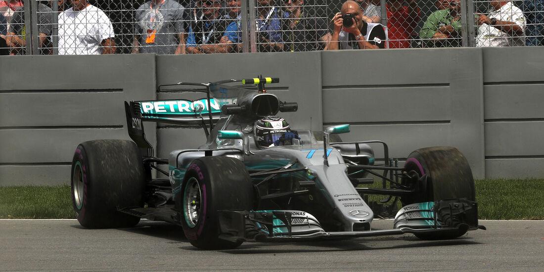 Valtteri Bottas - Mercedes - Formel 1 - GP Kanada - Montreal - 9. Juni 2017