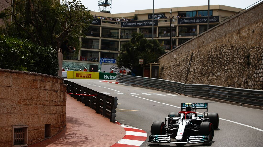 Valtteri Bottas - Mercedes - Formel 1 - GP Monaco - 25. Mai 2019