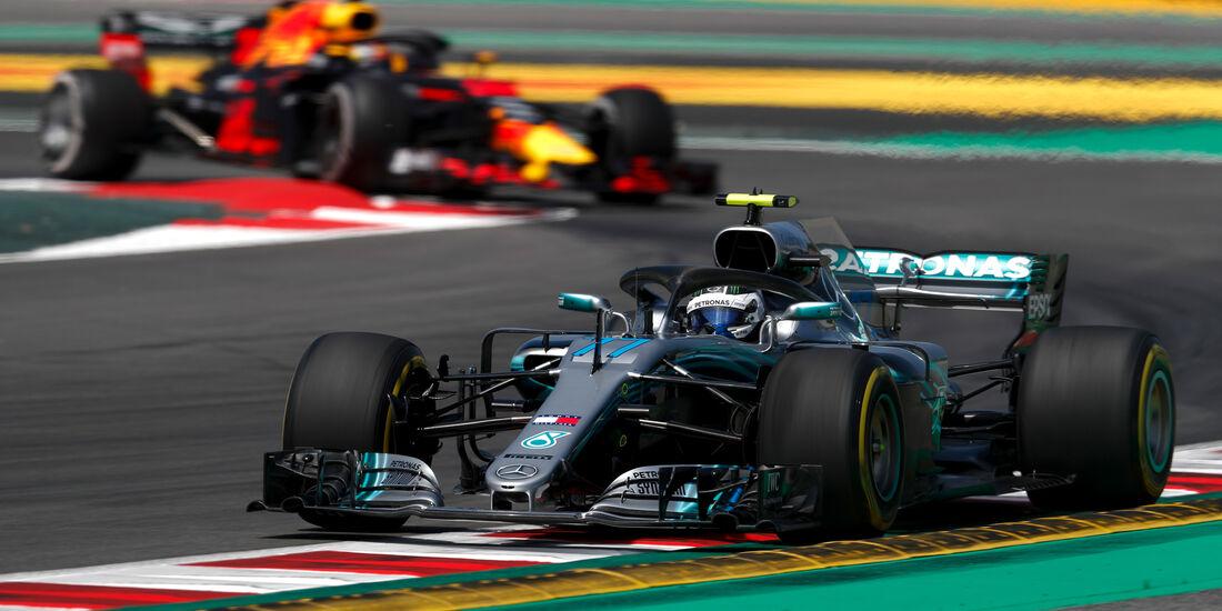 Valtteri Bottas - Mercedes - Formel 1 - GP Spanien - Barcelona - 11. Mai 2018