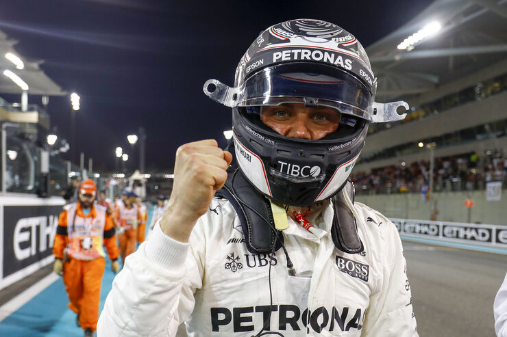 Valtteri Bottas - Mercedes - GP Abu Dhabi - 25. November 2017