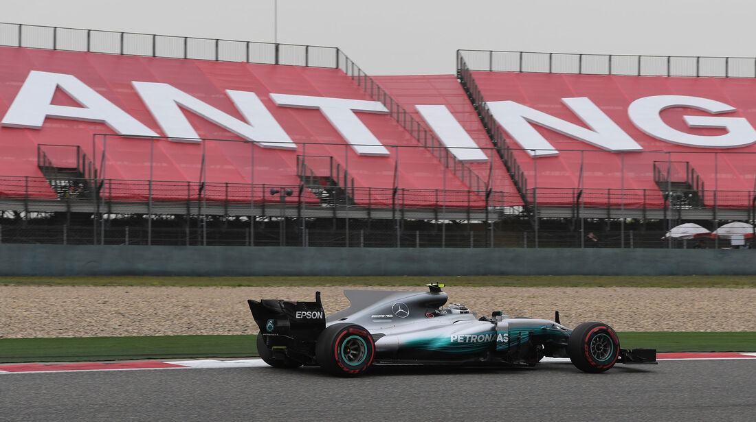 Valtteri Bottas - Mercedes -  GP China 2017 - Qualifying - 8.4.2017