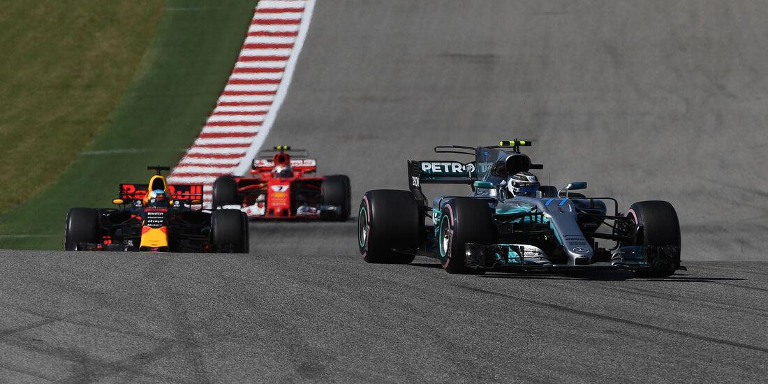 Valtteri Bottas - Mercedes - GP USA 2017 - Rennen