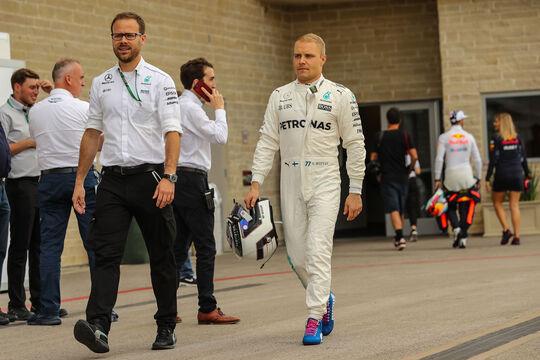 Valtteri Bottas - Mercedes - GP USA - Austin - Formel 1 - Donnerstag - 19.10.2017
