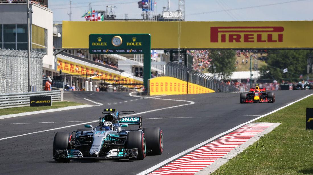 Valtteri Bottas - Mercedes - GP Ungarn 2017 - Budapest - Rennen