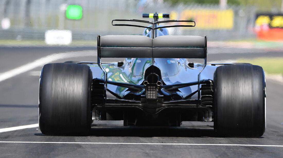 Valtteri Bottas - Mercedes - GP Ungarn - Budapest - Formel 1 - 28.7.2017